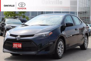 Used 2018 Toyota Corolla LE with Toyota Safety Sense and One Owner for sale in Oakville, ON