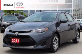 Used 2017 Toyota Corolla LE with Clean Carfax and One Owner for sale in Oakville, ON