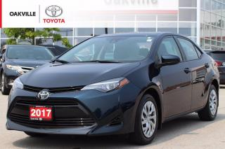 Used 2017 Toyota Corolla LE with New Front Brakes and Clean Carfax for sale in Oakville, ON