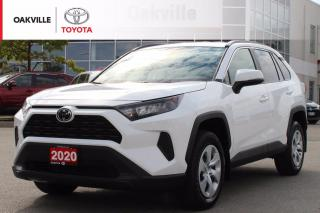 Used 2020 Toyota RAV4 LE FWD Toyota Certified with Clean Carfax for sale in Oakville, ON