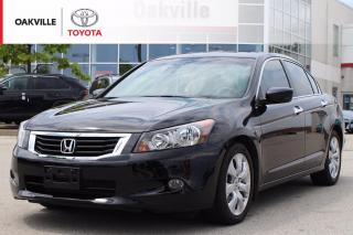 Used 2010 Honda Accord EX-L V6 EX-L with Clean Carfax and One Owner   SELF CERTIFY for sale in Oakville, ON