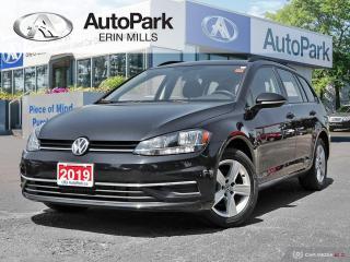 Used 2019 Volkswagen Golf Sportwagen 1.8 TSI Comfortline WAGEN|BACKUP CAM|HEATED SEATS|AWD for sale in Mississauga, ON