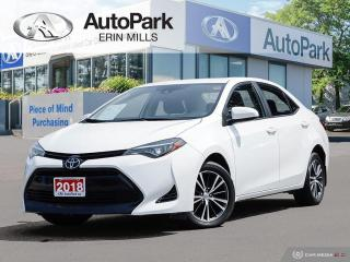 Used 2018 Toyota Corolla LE SEDAN, BACKUP CAM, FUEL EFFICIENT! for sale in Mississauga, ON