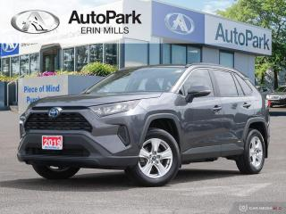 Used 2019 Toyota RAV4 Hybrid RARE HYBRID, AWD, ONE OWNER, GREAT FUEL ECONOMY for sale in Mississauga, ON