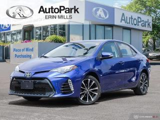 Used 2017 Toyota Corolla RARE XSE PKG, LEATHER, SUNROOF, NAVIGATION AND MORE for sale in Mississauga, ON