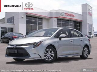 New 2021 Toyota Corolla Hybrid Hybrid CVT w/Li Battery for sale in Orangeville, ON