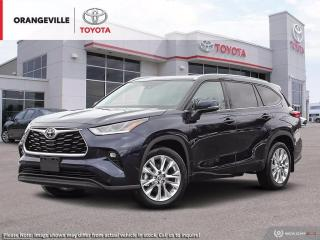 New 2021 Toyota Highlander LIMITED AWD for sale in Orangeville, ON