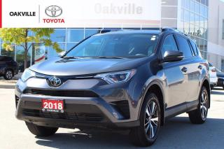 Used 2018 Toyota RAV4 LE FWD with One Owner for sale in Oakville, ON