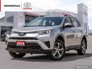 Used 2018 Toyota RAV4 FWD LE, BLUETOOTH, BACK UP CAMERA for sale in Orangeville, ON