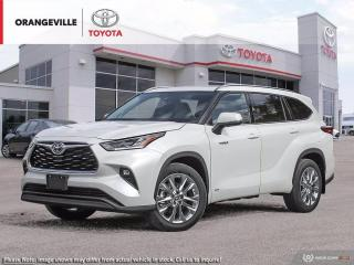 New 2021 Toyota Highlander HYBRID Hybrid Limited AWD for sale in Orangeville, ON