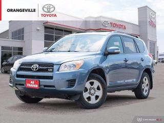 Used 2010 Toyota RAV4 V6 AWD, KEYLESS ENTRY, AS-TRADED. for sale in Orangeville, ON