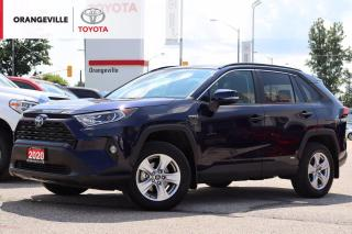 Used 2020 Toyota RAV4 Hybrid LOW KMS! Hybrid XLE AWD, HEATED STEERING WHEEL AND SEATS, BACK UP CAMERA, MOONROOF for sale in Orangeville, ON