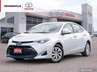 Used 2019 Toyota Corolla LE, KEYLESS ENTRY, BACK-UP CAMERA, HEATED SEATS, BLUETOOTH. for sale in Orangeville, ON