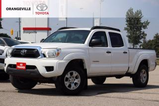 Used 2012 Toyota Tacoma V6 4WD DOUBLE CAB, BLUETOOTH, AS-TRADED. for sale in Orangeville, ON
