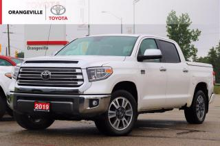 Used 2019 Toyota Tundra Platinum 5.7L V8 PLATINUM, 1794 EDITION, 4WD, SUNROOF, NAVIGATION, HEATED SEATS for sale in Orangeville, ON