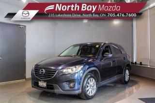 Used 2016 Mazda CX-5 GS AWD - Sunroof - Heated Seats - Leather for sale in North Bay, ON