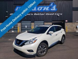 Used 2017 Nissan Murano SV AWD - Navigation, Sunroof, Heated Seats+Steering, Reverse Camera, Power Liftgate, Alloys and More for sale in Guelph, ON