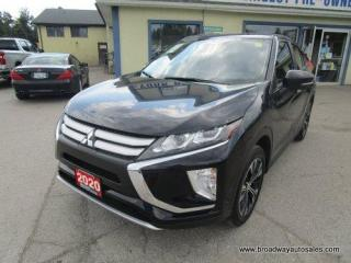 Used 2020 Mitsubishi Eclipse Cross ALL-WHEEL-CONTROL ES-MODEL 5 PASSENGER 1.5L - DOHC.. ECO-MODE-PACKAGE.. BACK-UP CAMERA.. BLUETOOTH SYSTEM.. HEATED SEATS.. KEYLESS ENTRY.. for sale in Bradford, ON