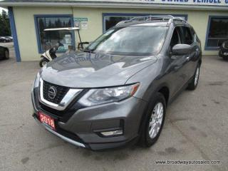 Used 2018 Nissan Rogue ALL-WHEEL DRIVE SV EDITION 5 PASSENGER 2.5L - DOHC.. ECO & SPORT MODE.. HEATED SEATS.. BACK-UP CAMERA.. BLUETOOTH SYSTEM.. TOUCH SCREEN.. for sale in Bradford, ON