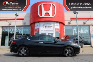 Used 2017 Honda Accord Coupe Touring - NEW FRONT AND REAR BRAKES - for sale in Sudbury, ON
