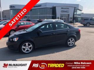 Used 2015 Chevrolet Sonic LT for sale in Winnipeg, MB