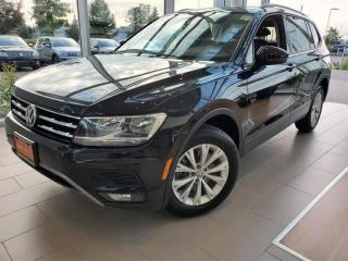 Used 2018 Volkswagen Tiguan Trendline 2.0T 8sp at w/Tip 4M for sale in Orleans, ON