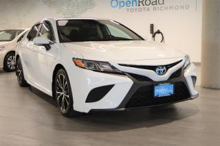 Used 2020 Toyota Camry HYBRID SE CVT for sale in Richmond, BC