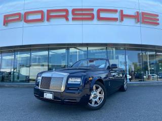 Used 2013 Rolls Royce Phantom Drophead Coupe Drophead Coupe for sale in Langley City, BC