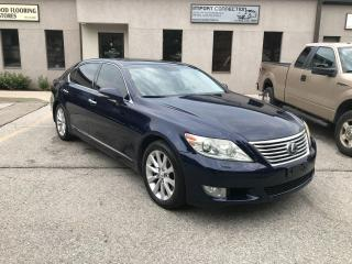 Used 2010 Lexus LS 460 AWD,LONG WHEEL BASE,MINT CONDITION,NO ACCIDENTS! for sale in Burlington, ON
