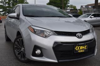 Used 2015 Toyota Corolla S ACCIDENT FREE for sale in Oakville, ON