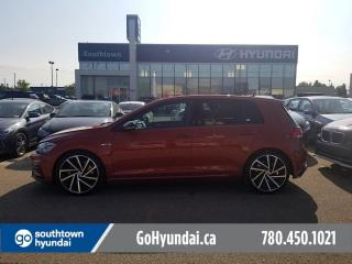 Used 2018 Volkswagen Golf R R/AUTO/NAV/LEATHER/HEATED SEATS for sale in Edmonton, AB