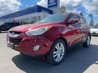 Used 2013 Hyundai Tucson Limited for sale in Duncan, BC
