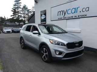 Used 2017 Kia Sorento 3.3L EX LEATHER, PANOROOF, HEATED SEATS/WHEEL, 7 PASS, V6! for sale in Richmond, ON