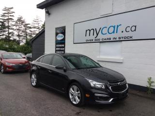 Used 2015 Chevrolet Cruze LTZ LEATHER, SUNROOF, NAV, RS PKG, WOW LOADED!! for sale in North Bay, ON