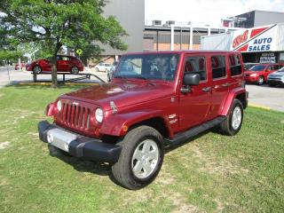 Used 2011 Jeep Wrangler Sahara Unlimited ~ HARD & SOFT TOPs ~ NAVIGATION for sale in Toronto, ON