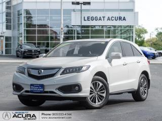 Used 2017 Acura RDX Elite TOP OF THE LINE|COOLED SEATS|SUNROOF|TOP SAFETY FEATURES for sale in Burlington, ON