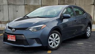 Used 2016 Toyota Corolla LE for sale in Sarnia, ON