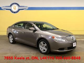 Used 2010 Buick LaCrosse CX 2 Years Power-Train Warranty for sale in Vaughan, ON