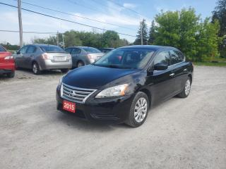Used 2015 Nissan Sentra S for sale in Stouffville, ON