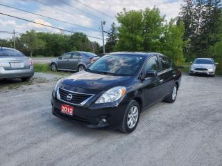 Used 2012 Nissan Versa SL w/ NAVIGATION ONLY 75,008KMS CERTIFIED for sale in Stouffville, ON