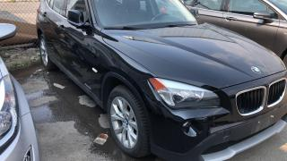 2012 BMW X1 AWD, LEATHER SEATS, 2.0L (AS IS. Needs an Engine )