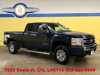 Used 2011 Chevrolet Silverado 1500 Cheyenne Edition 4WD Ext Cab, 2 Year Warranty for sale in Vaughan, ON