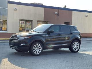 Used 2015 Land Rover Range Rover Evoque Pure Plus Navigation/Panoramic Sunroof /Camera for sale in North York, ON