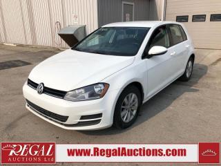 Used 2016 Volkswagen Golf Comfortline 4D HATCHBACK 1.8L for sale in Calgary, AB