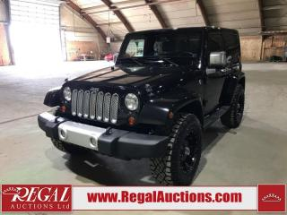 Used 2012 Jeep Wrangler Sahara 2D Utility 4WD for sale in Calgary, AB