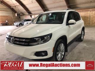 Used 2013 Volkswagen Tiguan 4D Utility AWD for sale in Calgary, AB