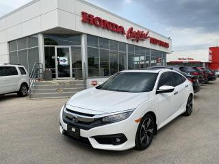 Used 2018 Honda Civic Touring NAVI   LEATHER   for sale in Winnipeg, MB