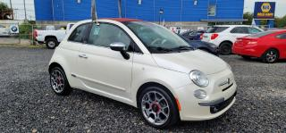 Used 2012 Fiat 500 CONVERTIBLE GARANTIE 1 AN for sale in Pointe-aux-Trembles, QC