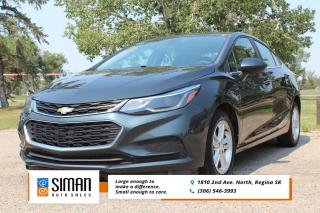 Used 2017 Chevrolet Cruze LT Auto FACTORY POWERTRAIN WARRANTY for sale in Regina, SK
