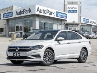 Used 2020 Volkswagen Jetta Highline SUNOORF|LEATHER|BLINDSPOT ALERT|RCTA for sale in Mississauga, ON